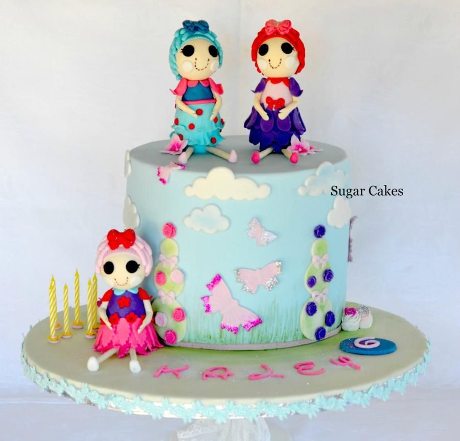Lallaloopsy Love Cake By Sugar Cakes Linda Knop Girls Cakes