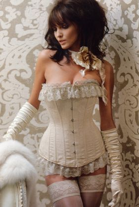 567c646da 70-2520sp A lovely long line corset with a difference  steel boning ...