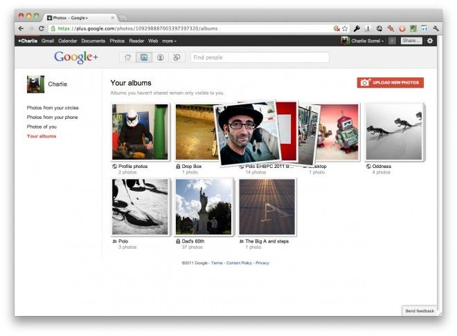 Google plus photo Gallery