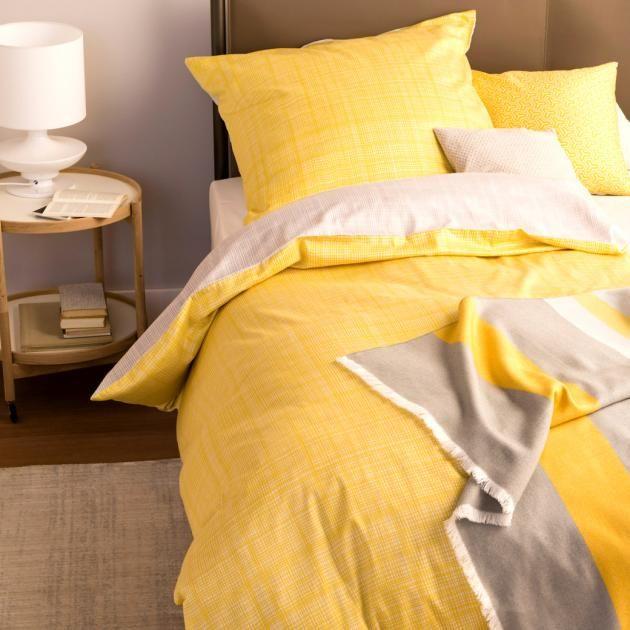 Schoner Wohnen Shop Bettwasche Web Aus Der Schoner Wohnen Kollektion Bild 2 Bettwasche Schoner Wohnen Gelbe Bettwasche