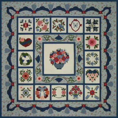 Victoriana Album Quilt Pattern ~ One of my treasured designs :) http://www.victorianaquiltdesigns.com/VictorianaQuilters/PatternPage/VictorianaAlbum/VictorianaAlbum.htm #quilting #heirloom
