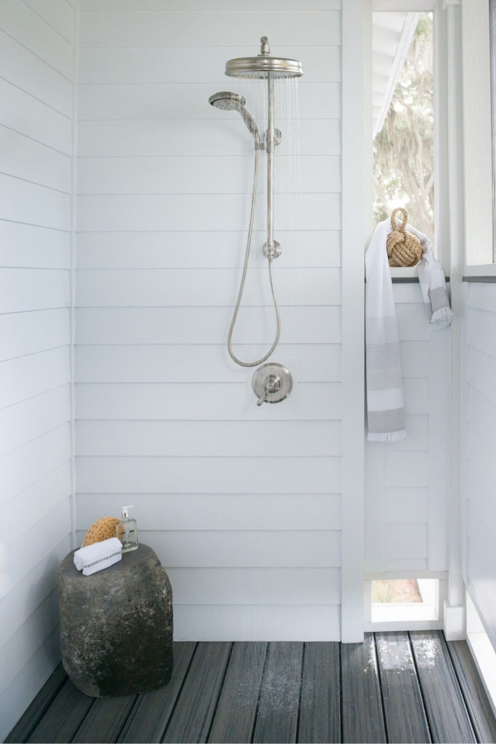 Low Country Retreat | Bath | Pinterest | Outdoor bathrooms, Rustic ...