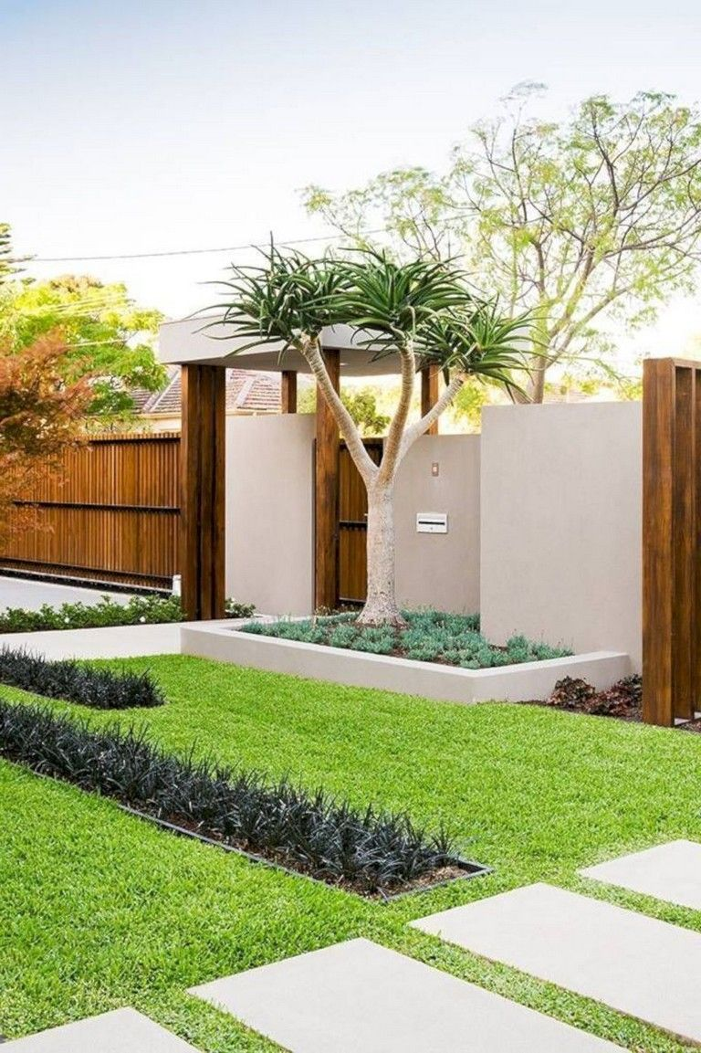 35 Beautiful Landscaping Ideas That Will Beautiful Your Yard Landscaping Landscapingideas Yard Cheap Landscaping Ideas Modern Landscaping Front Yard Design
