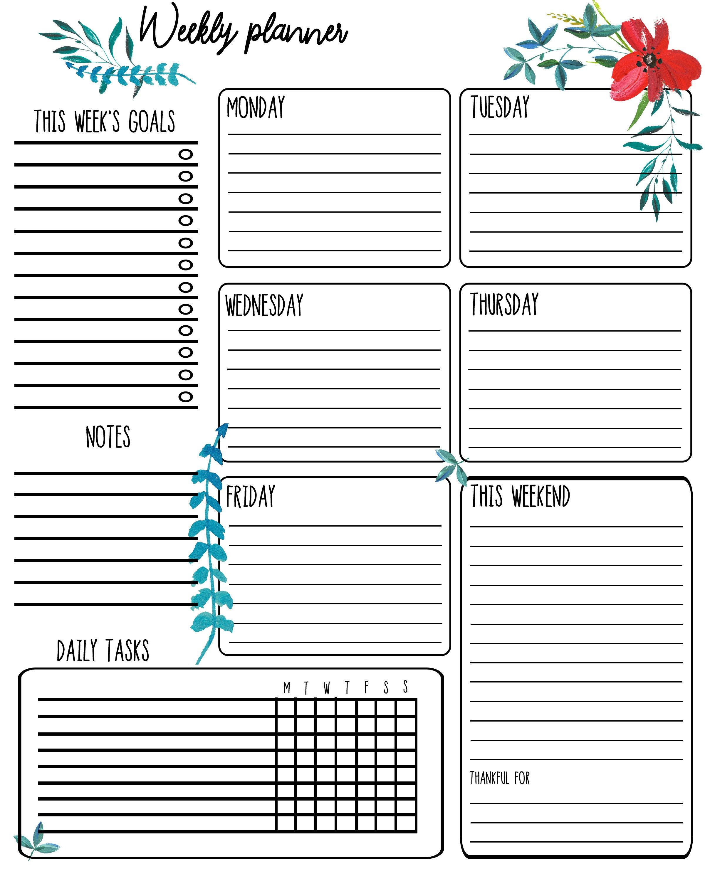 Free Printable 2018 Calendar with Growth Mindset Quotes! #journaling