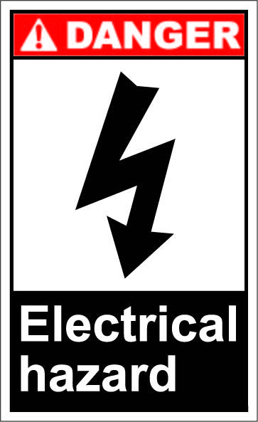 Electric Hazard 1 64 Signs