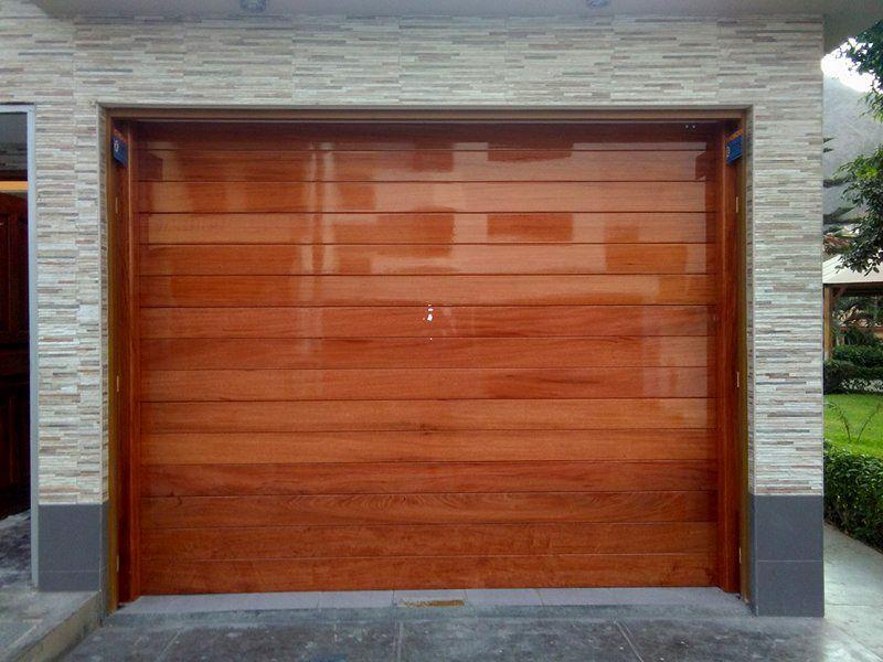 Resultado de imagen para dise o de puertas de madera para - Puertas de garaje de madera ...