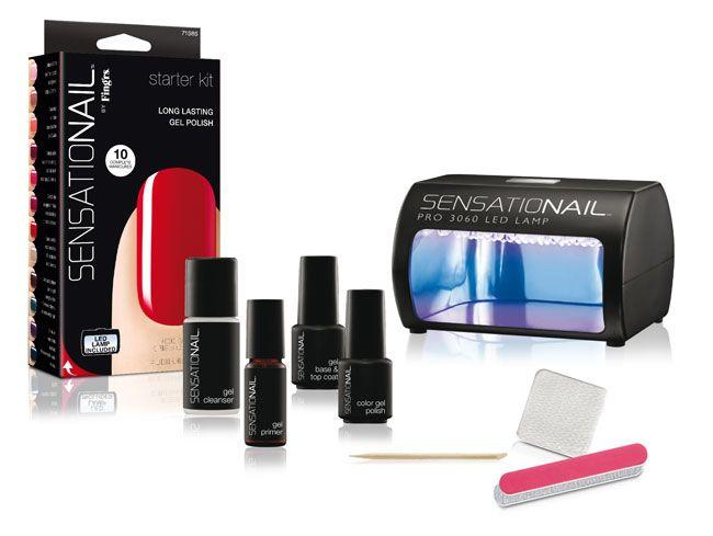 Sensational Nail starter kit: shellac-like manicure at home ...