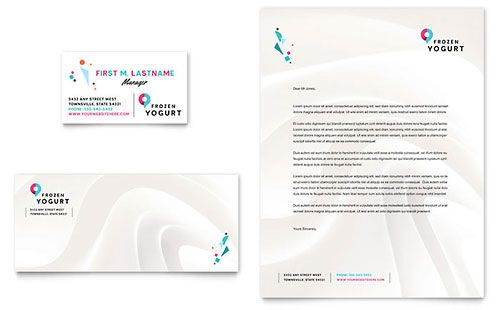 Frozen Yogurt Shop Letterhead Template Download Pinterest - letterhead sample