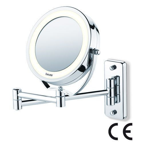 Beurer Bs 59 Illuminated Wall Mounted Cosmetic Mirror Beurer Bs 59 Illuminated Wall Mounted Co In 2020 Cosmetic Mirror Shaving Mirror Illuminate Cosmetics