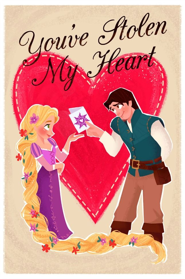 These Disney Valentines Are the Perfect Throwback via Brit + Co.