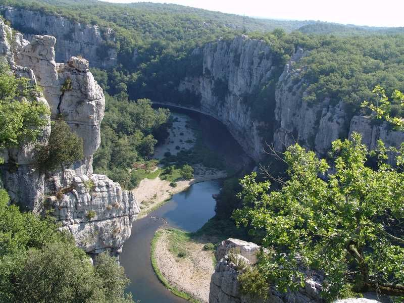 Les Vans The Ardeche the grand canyon of Europe