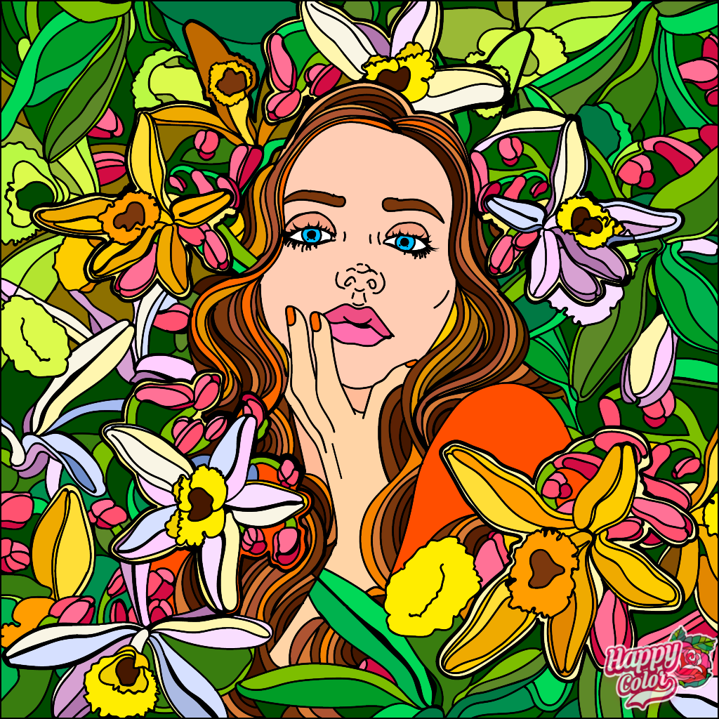 Пин от пользователя Natali на доске Happy Color App ...