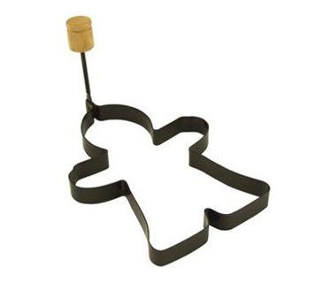 Gingerbread Man Pancake Ring