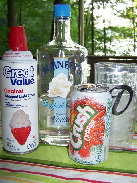 Man That Stuff Is Good!: Whipped Cream Vodka Creamsicle.
