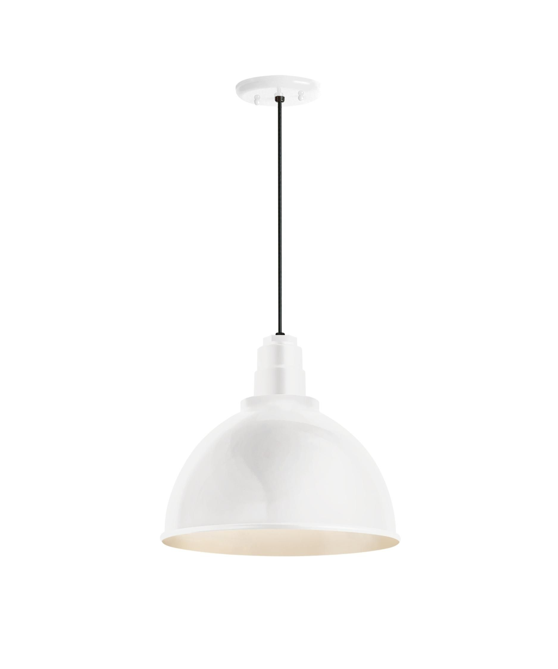 Troy lighting drd deep reflector inch large pendant st