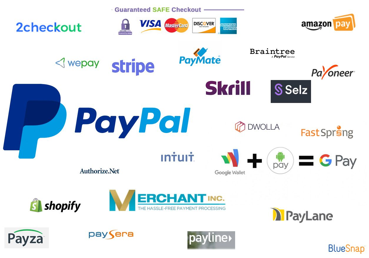 Paypal is a leading online payment option that many users