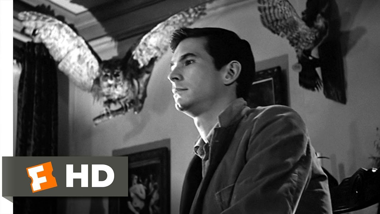 Psycho 1960 Norman Bates One Of The Charcters Who Was Inspired By Ed Gein The Cinemotography And Lighting Shows Wha Boy Best Friend Movie Clip Old Movies
