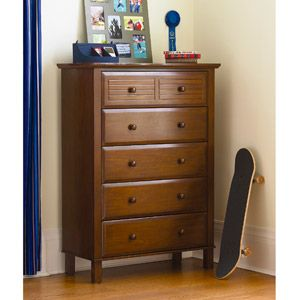 Your Zone Zzz Place To Be 5 Drawer Chest Walnut 200