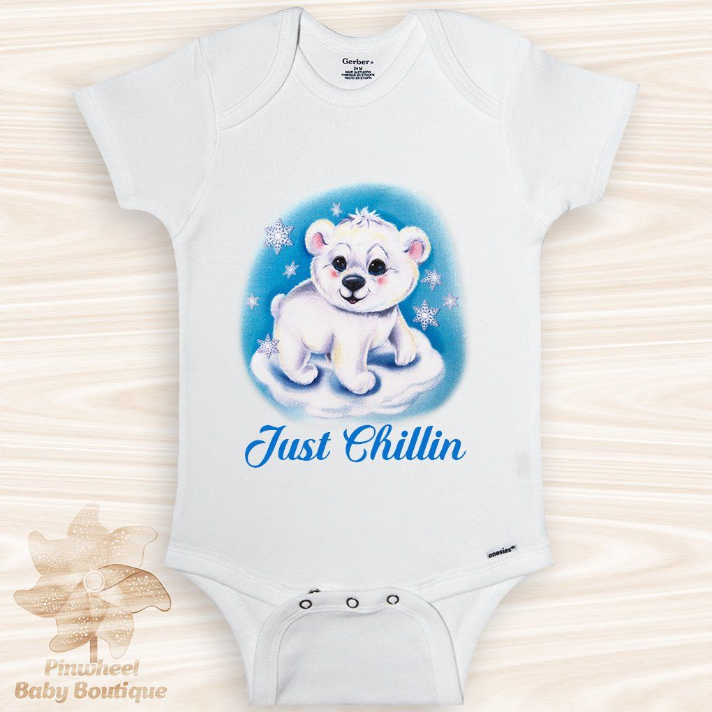 632df9b12 Polar Bear Onesie® Funny Baby Clothes Polar Bear Shirt Cute Animal ...