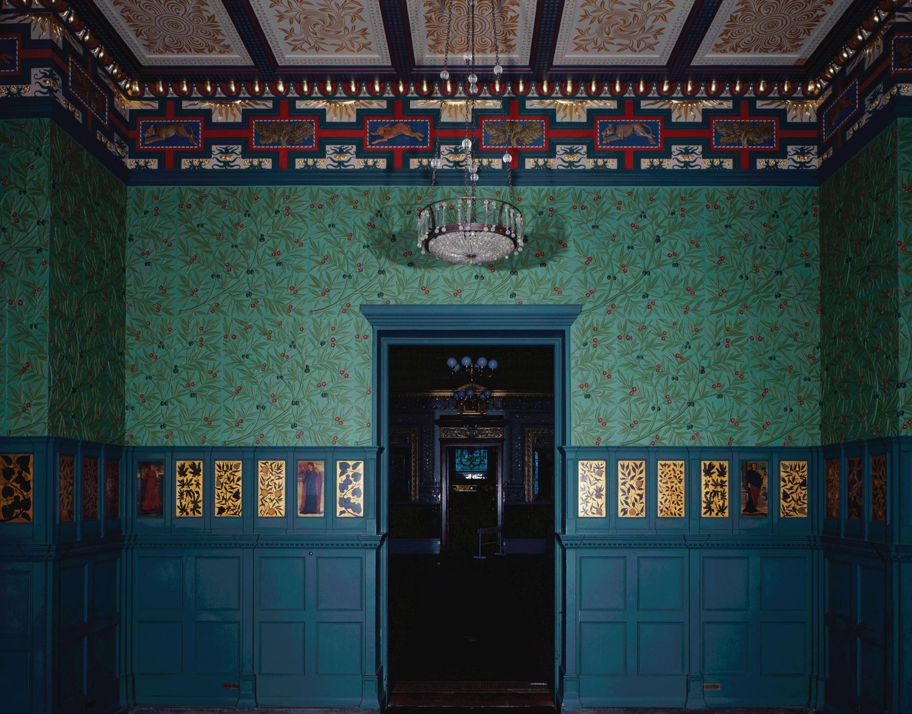 William Morris Green Dining Room 1867 Art Nouveau