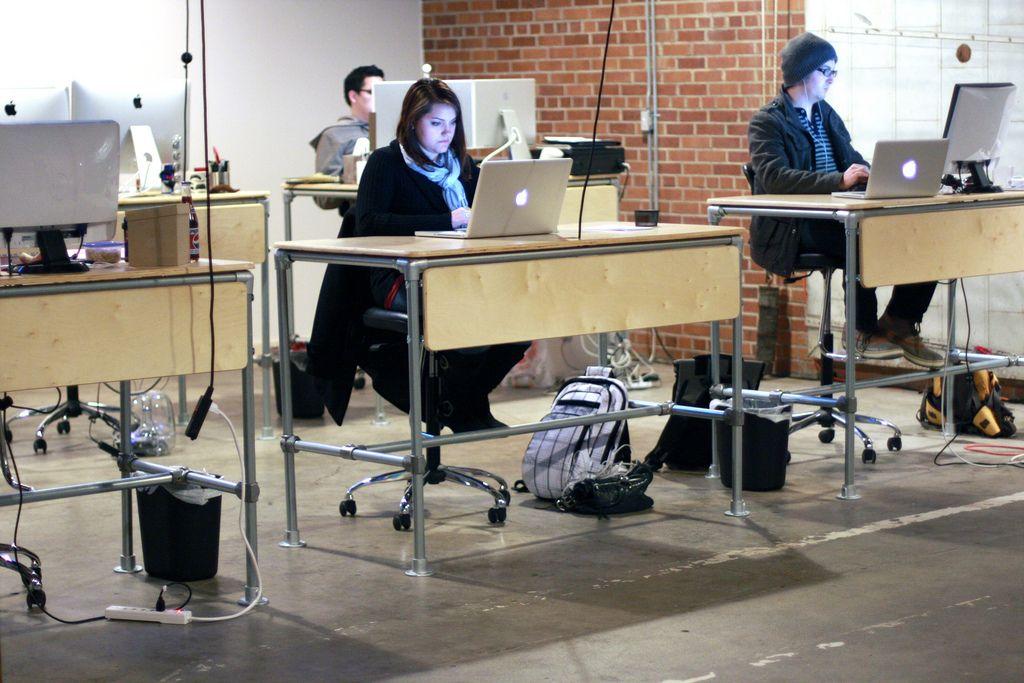 Simple Table Standing work desks, Work desk, Diy