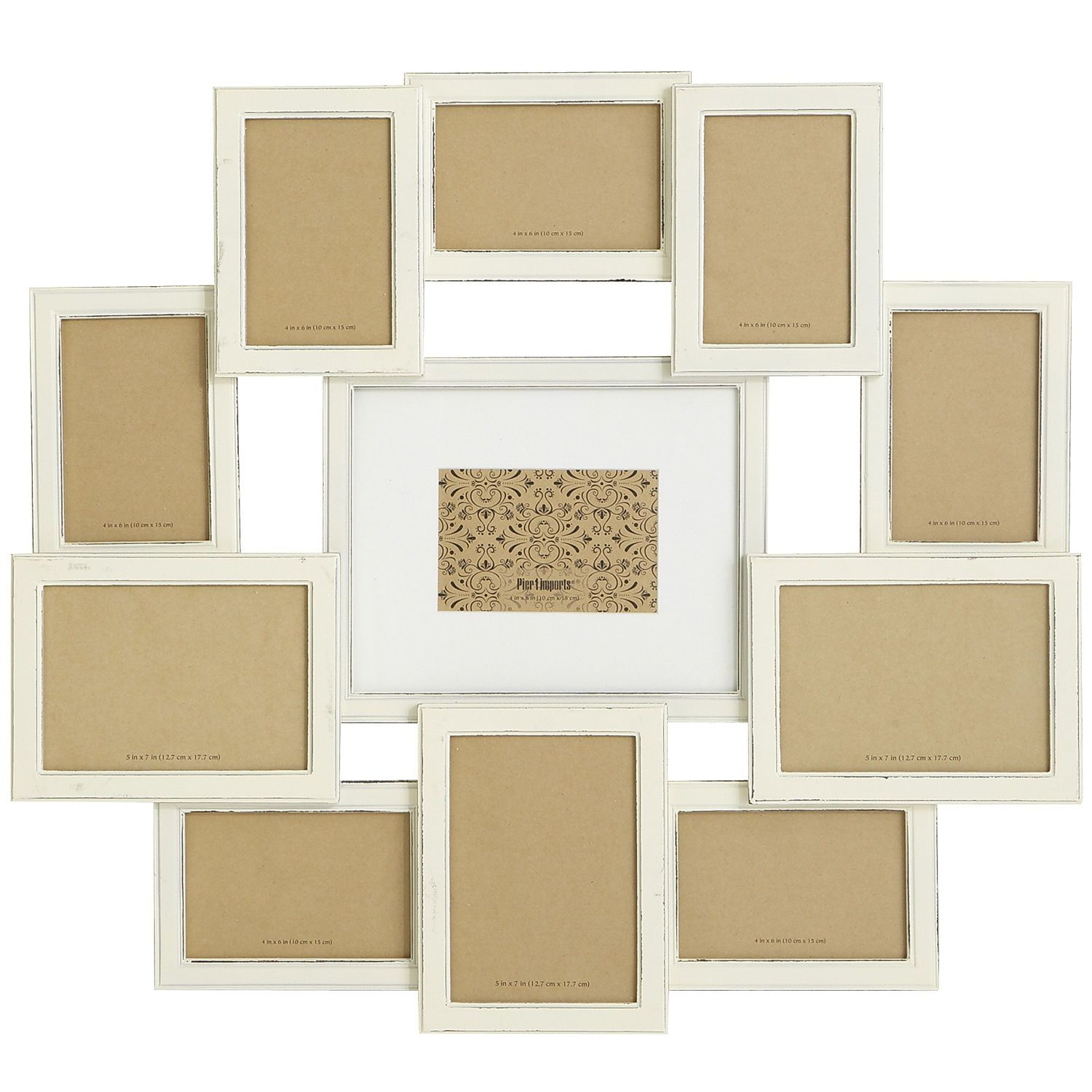 Bennett Collage Frame - White | Pier 1 Imports | bed room-libby ...
