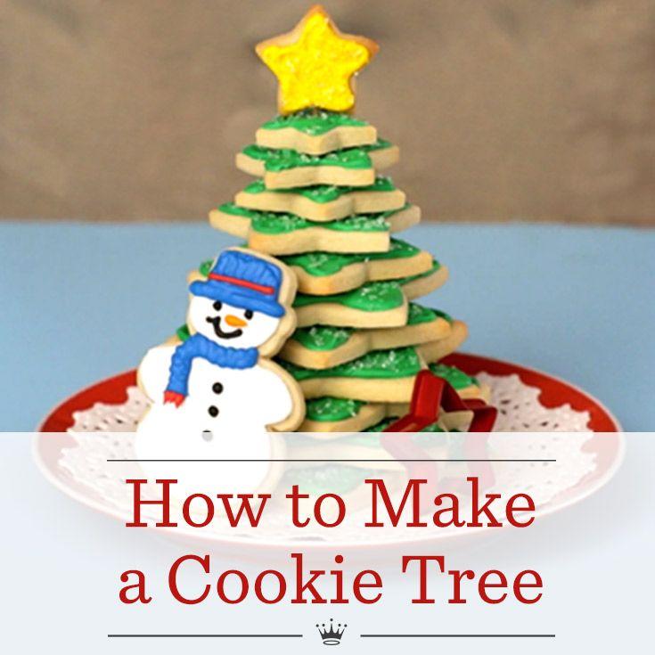Christmas Cookie Tree Recipe Christmas Tree Food Christmas