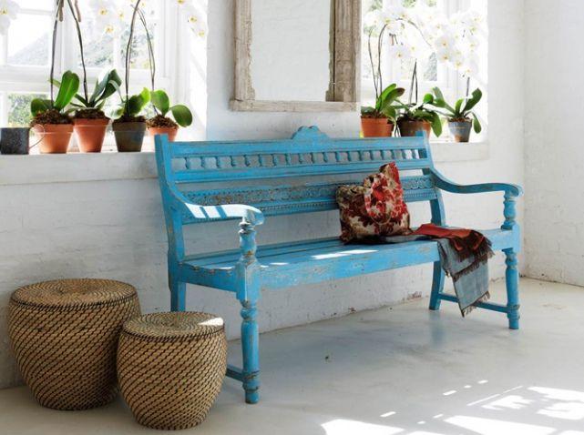 Le turquoise, le bleu qu\'on adore - Elle Décoration | Home ideas ...