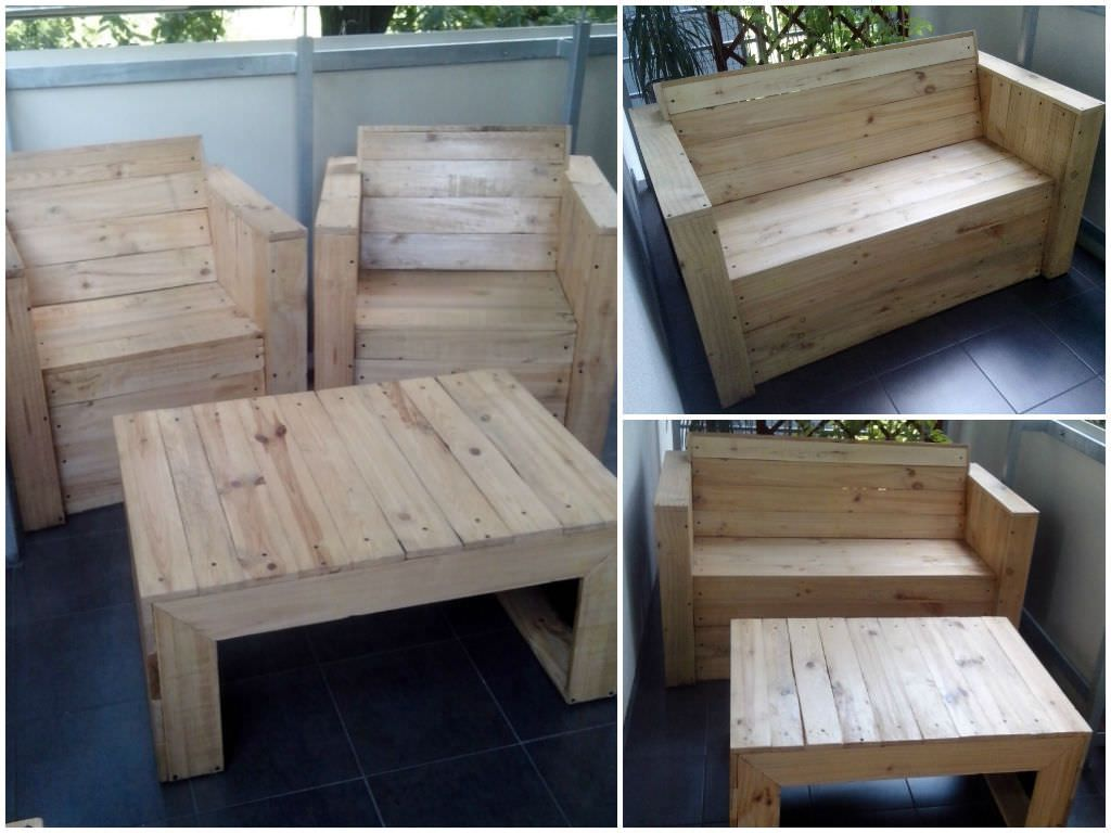 Wood pallet coffee table do you assume wood pallet coffee table - Tables My First Project Made From Recycled Wooden Pallets A Bench Chairs And A Coffee