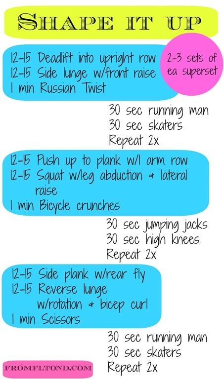 Circuit Training Workouts At Home