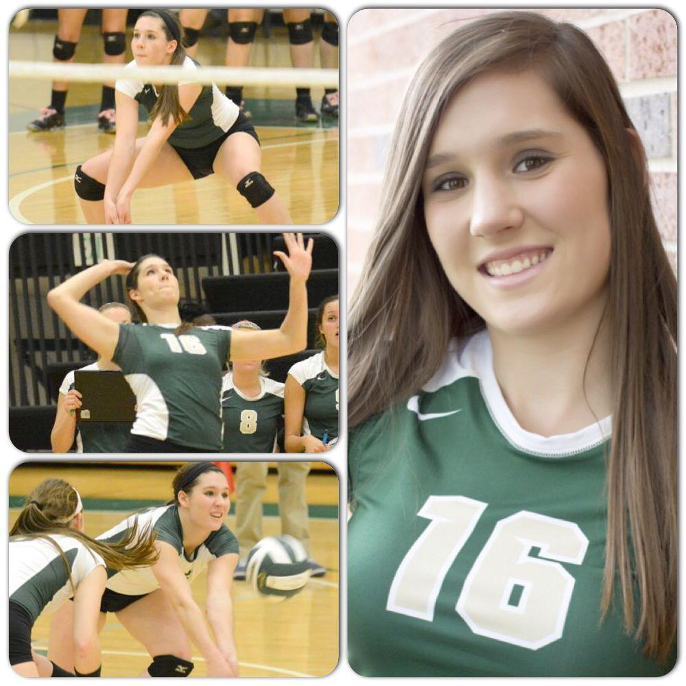16 Ashley Allegri 5 7 Fr Oh Ds Leawood Ks Volleyball Team Teams Leawood