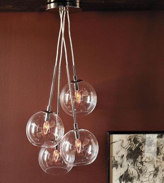Clear Gl Globe Lighting Fixture