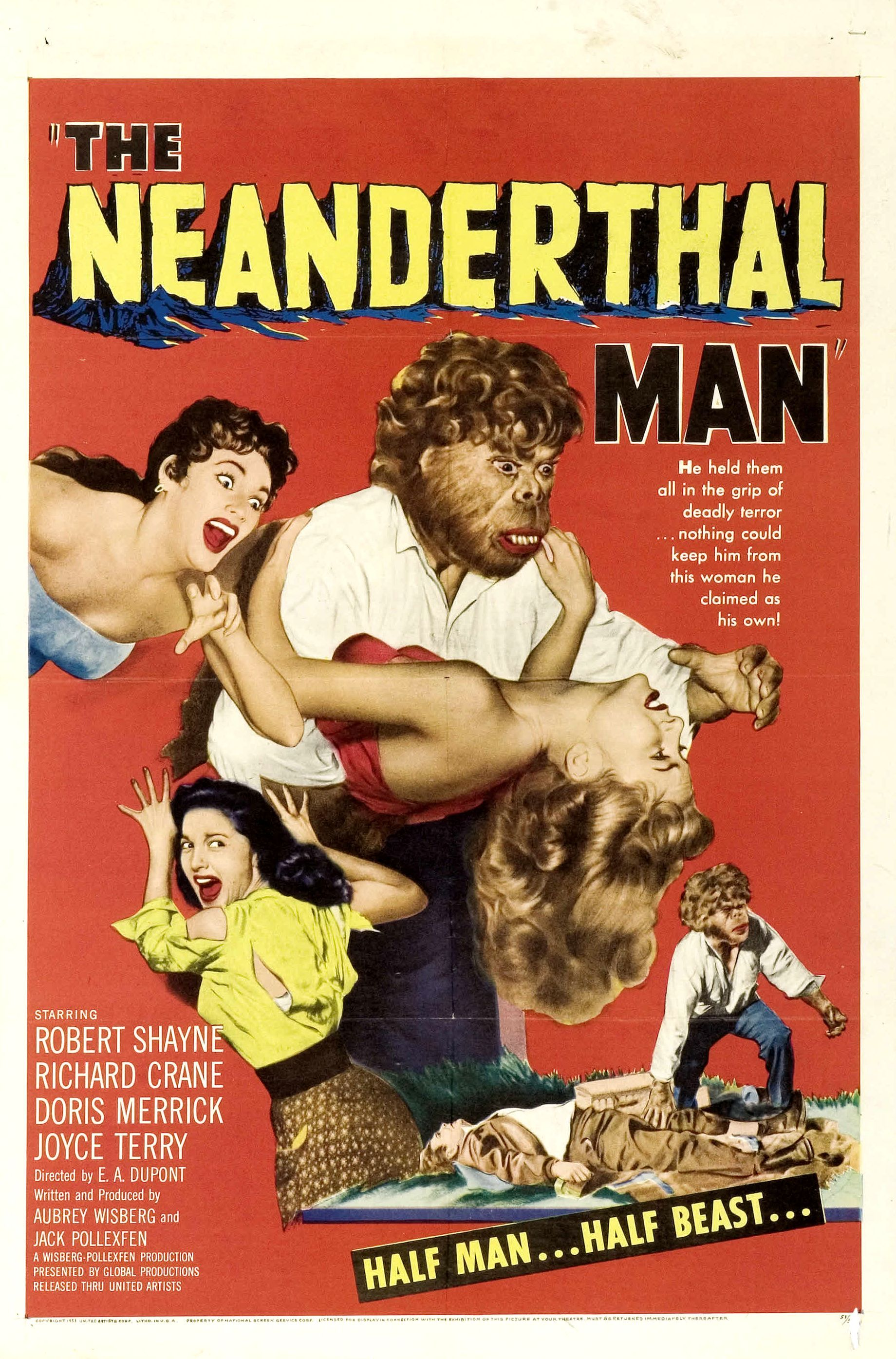 The Neanderthal Man.....1953