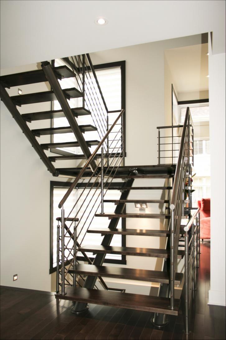 Best Tubular Steel Tube Staircase Industrial Looking 640 x 480