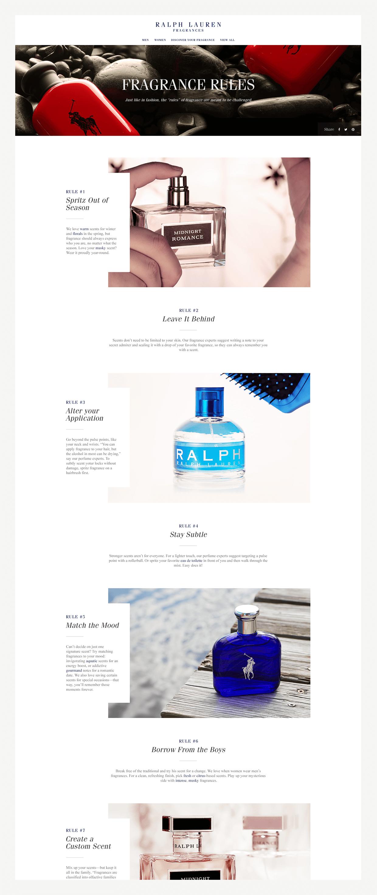 fragrance rules of ralph lauren