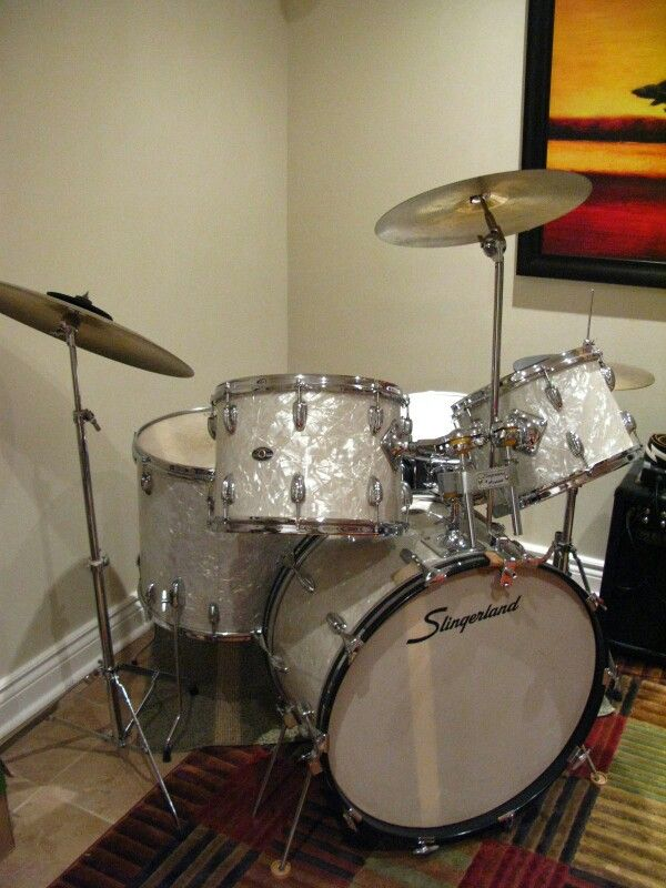 My Drum Kit Vintage Drums Drums Drum Kits