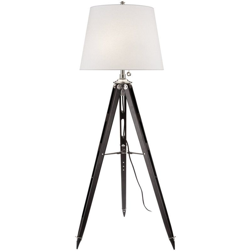 Limited Production Design Ralph Lauren Surveyors Floor Lamp Black H 67 Inches Partner Matching Table Lamps Available Floor Lamp Lamp Tripod Floor Lamps
