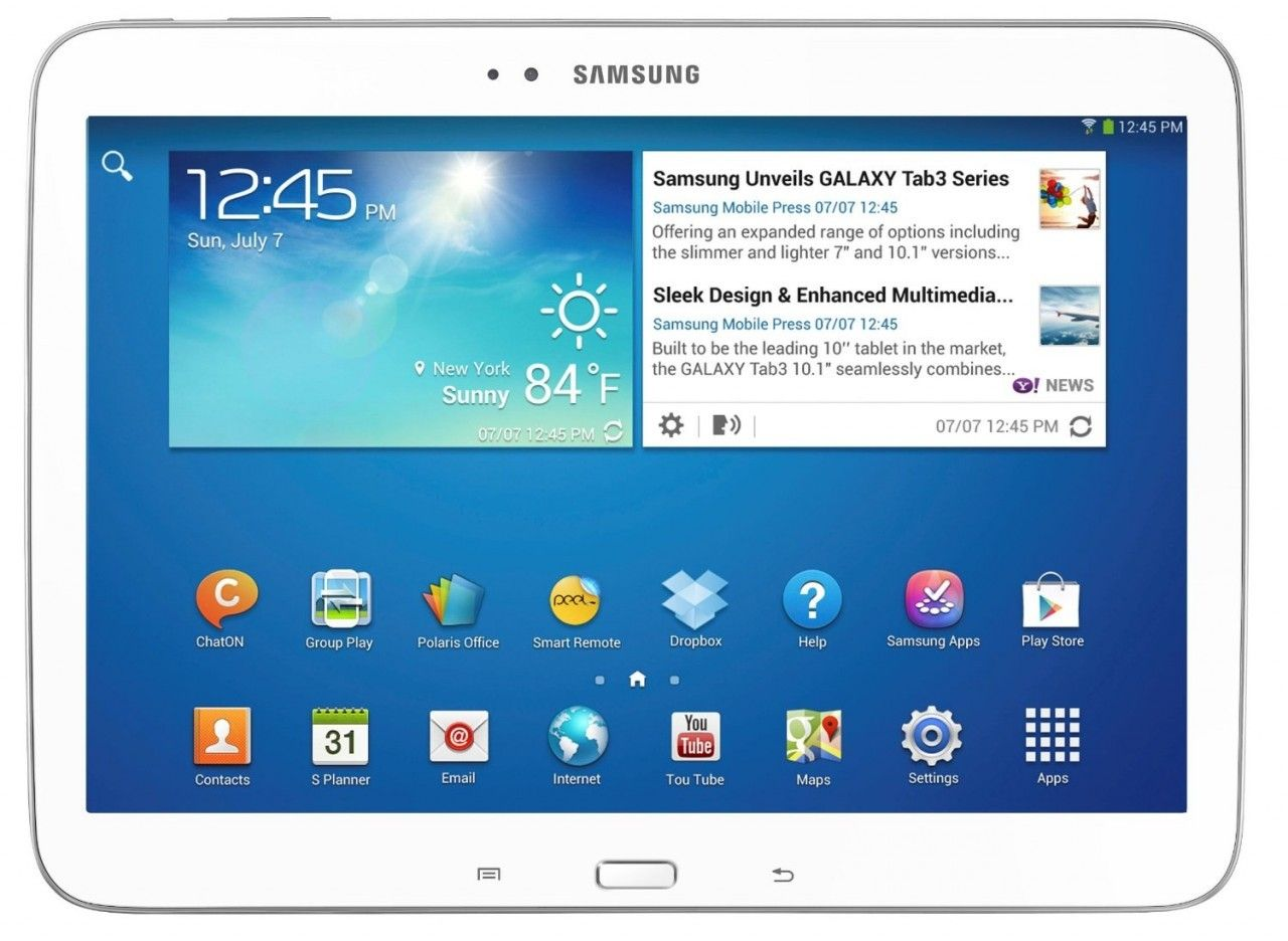 With Samsung S Watchon App You Can Use The 10 Inch Galaxy Tab 3 As A Remote Control To Operate Your Samsun Samsung Galaxy Tab Samsung Galaxy Tablet Galaxy Tab