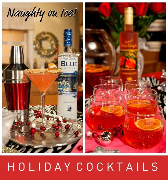 Holiday Mojito & Pomagrenade Punch Recipes With Van Gogh