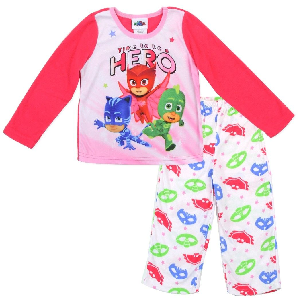 Disney Junior Pj Mask Catboy Owlette And Gekko Toddler Girls