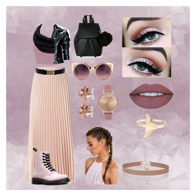 Rocker and girly style by solisdelfina-dsb on Polyvore featuring