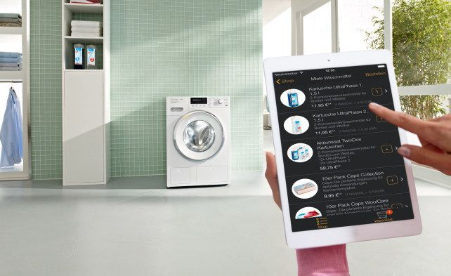 Miele Washers Tell You When You Need To Buy Detergent