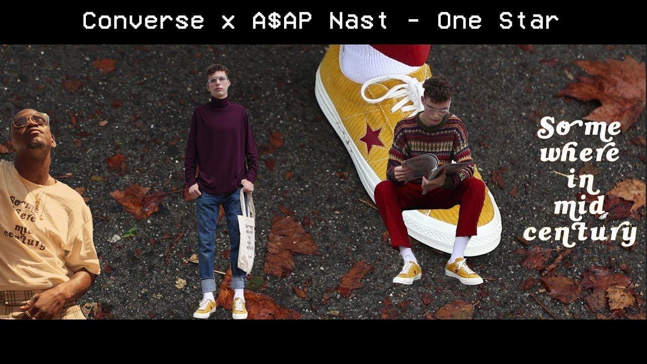 converse one star nast