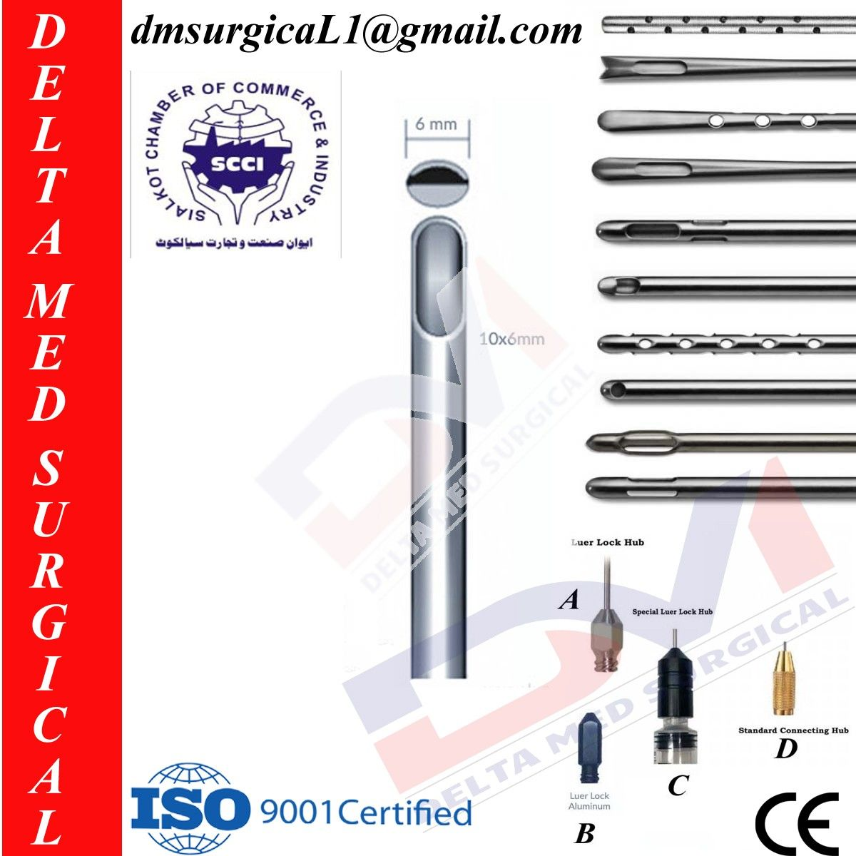 Liposuction Cannula And One Central Hole 6 Mm And Tip With Hold Liposuction Plastic Surgery Surgery
