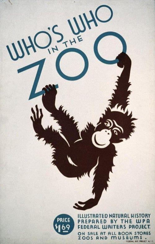 Downloads Brookfield Zoo Posters 1930s Vintage Me Oh My Plakater Billeder