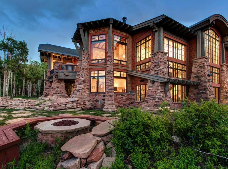 14 500 Square Foot Mansion In Park City Ut With Indoor Rock Climbing Wall Homes Of The Rich The Web S 1 Luxury Real Mansions Park City Luxury Real Estate