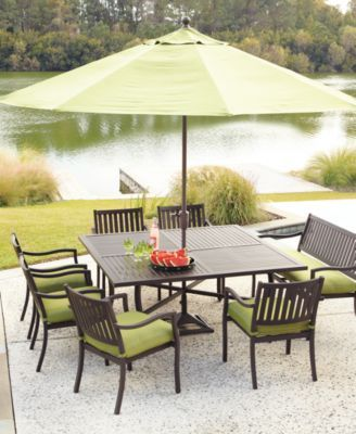 Macy S Madison Outdoor Patio Furniture Dining Sets Pieces