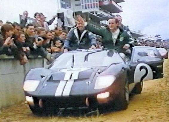 1966 Le Mans Ford Gt40 Mk Ii 2 Bruce Mclaren Chris Amon A