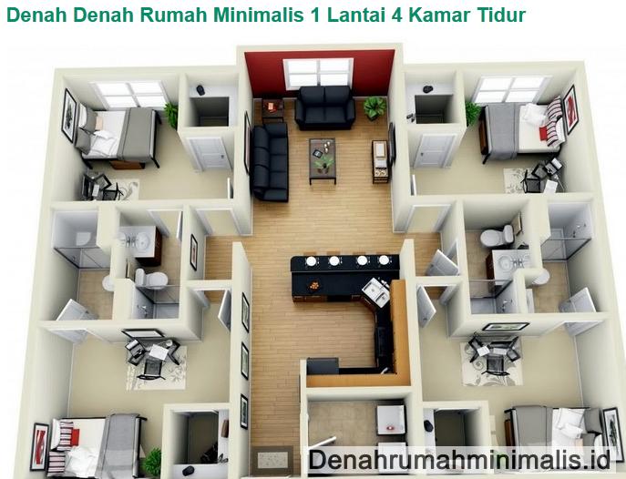 Denah rumah sederhana lantai kamar tidur also interior design rh in pinterest
