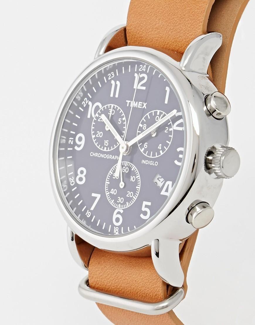 magasin d'usine 52927 03217 Timex | Timex - Weekender - Montre chronographe à bracelet ...